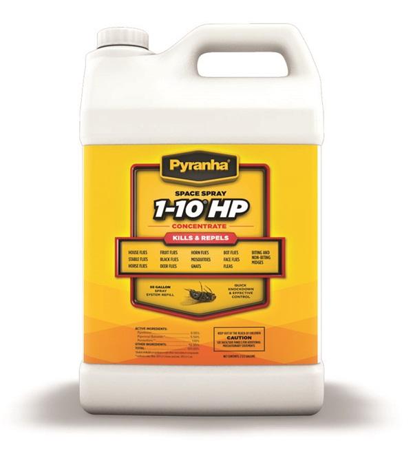 Pyranha® Space Spray 1-10 HP™ Concentrate 2-1/2 Gallons