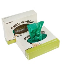 Zippy Paws Green Unscented Poop Bags (160 per Pop-up box)
