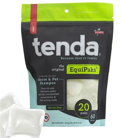 Tenda® EquiPaks™ Concentrated Horse & Pet Shampoo