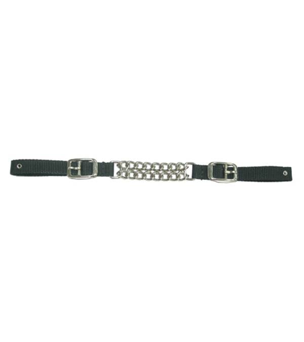 Double Row Round Link Curb Strap
