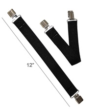 Feather-Weight® Elastic Pant Clips Wide