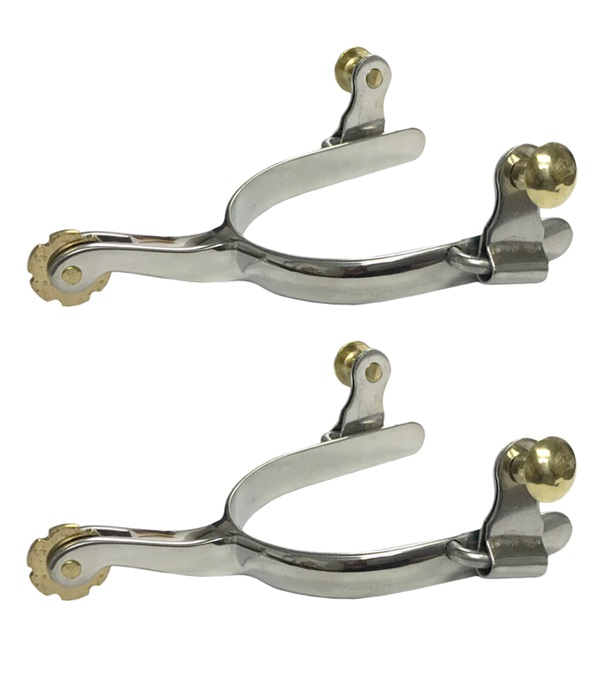 Stainless Steel Roper Spurs