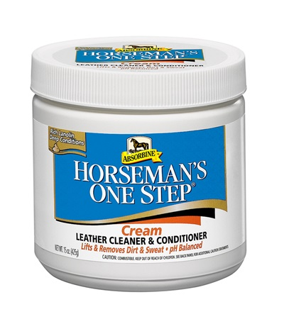 Absorbine® Horseman's One Step® Cream Leather Cleaner & Conditioner 15 oz.
