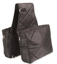 Quilted Cooler Saddle Bag