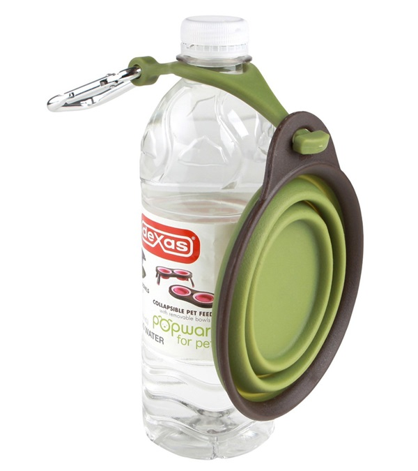Dexas® Travel Cup with Bottle Holder & Carabiner