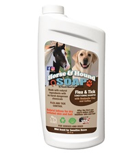 Horse & Hound Soap Flea & Tick Conditioning Shampoo 35 oz.