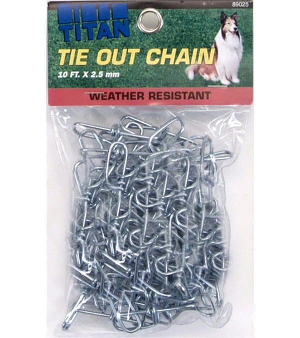 Titan® Twisted Link Tie Out Chain 2.5 mm