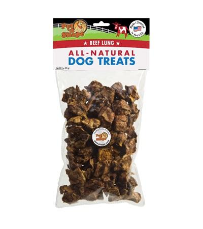Pet 'n Shape® Beef Lung 3 oz. Bag All-Natural Dog Treats