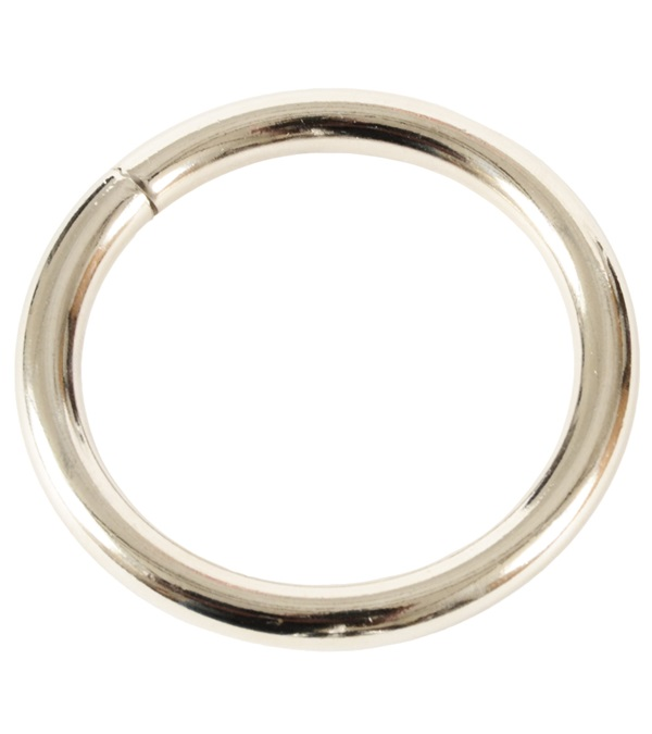 "Ring 1-3/4"" Nickel Plated"