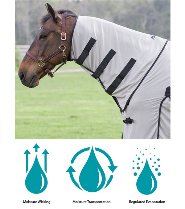 Coolaid Equine Cooling Neck Wrap