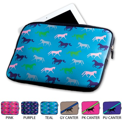 Neoprene Zipper iPad Sleeve