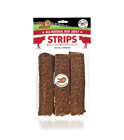 Pet 'n Shape® Beef Jerky Strips All-Natural Dog Treats