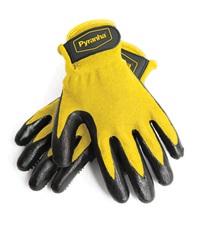 Pyranha® Rub & Scrub Grooming Gloves
