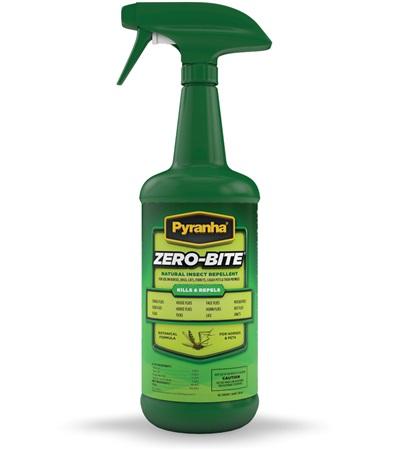 Pyranha® Zero-Bite® Natural Insect Repellent 32 oz.