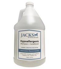 Jacks Hypoallergenic 2-in-1 Shampoo & Conditioner Gallon
