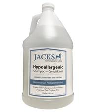 Jacks Hypoallergenic 2-in-1 Shampoo & Conditioner Gallon