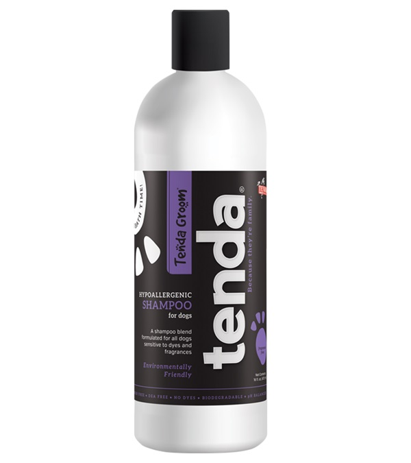 Tenda Groom® Hypoallergenic Shampoo 16 oz.