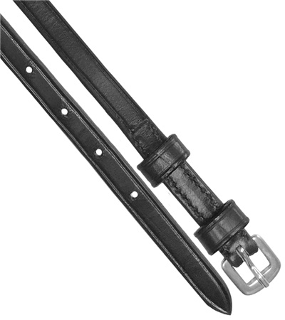 Double Keeper Leather Spur Straps