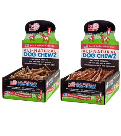 Pet 'n Shape® Pizzle Sticks All-Natural Dog Treats