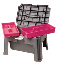 Grooming Stool with Storage Box