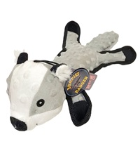 Steel Dog Bumpie Badger with Tennis Ball & Rope