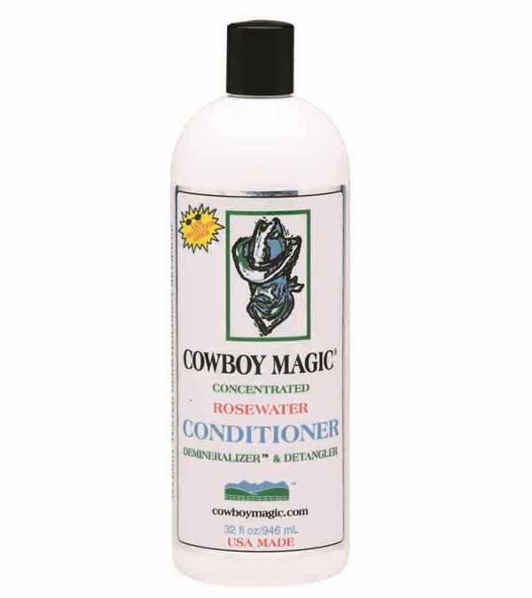 Cowboy Magic® Rosewater Demineralizer™ Conditioner 32 oz.