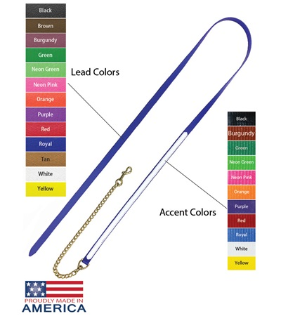 """Feather-Weight® Beta Two-Tone Lead Shank with 30"""" Solid Brass Chain"""