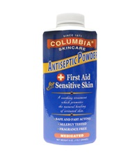 Columbia® Medicated Antiseptic Powder 6 oz.
