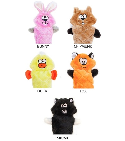Zippy Paws Jigglerz™ Plush Dog Toys