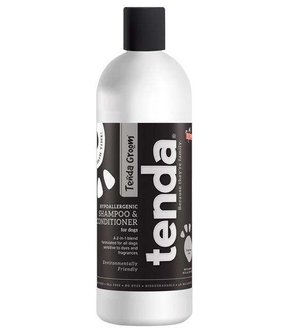 Tenda Groom® Hypoallergenic 2-in-1 Shampoo & Conditioner 16 oz.