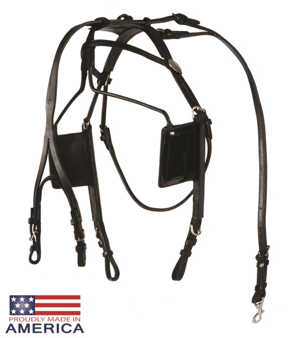 Feather-Weight® Blind Bridle Leather