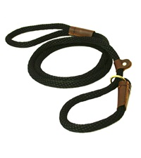 """Lone Wolf Solid (Round) 1/2"""" Braided Rope Lead with Slip"""