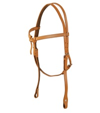 Crossover Headstall Chicago Style