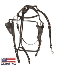 Feather-Weight® Beta/Nylon Kant See Back Bridle