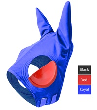 Double Knit Blinker Hood with Ears and Vinyl Full Cups
