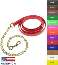 """Feather-Weight® Beta Lead Shank with 30"""" Solid Brass Chain"""