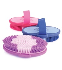 Equestria™ Sport Oval Strap-Back Brush 6-3/4""