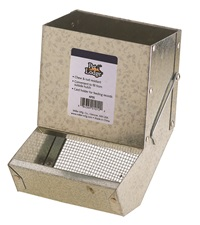 Small Animal Feeder with Sifter Bottom with No Lid