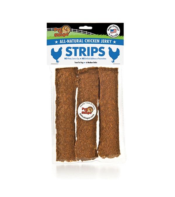 Pet 'n Shape® Chicken Jerky Strips All-Natural Dog Treats