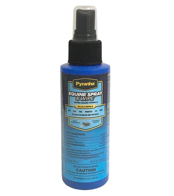 Pyranha® Equine Spray & Wipe™ 3.4 oz.