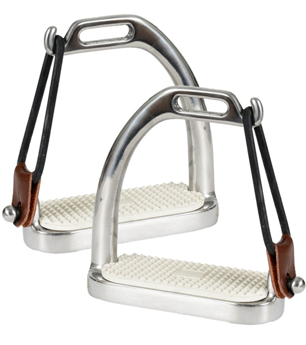 Peacock Stirrups with Pad