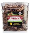 Pet 'n Shape® Beef Lung CHUNX Cheese All-Natural Dog Treats