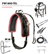 Feather-Weight® Synthetic Standard Race Harness