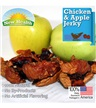 New Health Pet Products Chicken & Apple Jerky 4 oz.