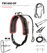 LITE-N-TUFF® Nylon Race Harness by Feather-Weight®