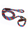 "Lone Wolf Solid (Round) 1/2"" Braided Rope Lead with Slip"
