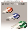Long Snout Optivizor™ for Whippets/Greyhounds